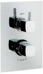 "Kia/Jule Twin Concealed 3/4"" Thermostatic Shower Valve"
