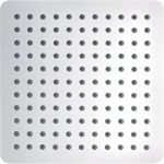 Slimline Polished Square 250mm Showerhead